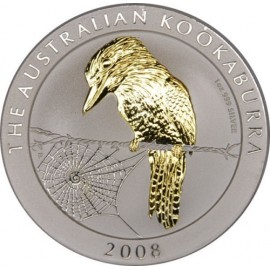 1 Unze Silber Australien Kookaburra 1996