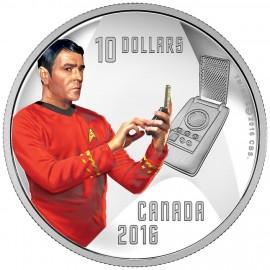 1/2 Unze Silber Canada Captain Scotty 50 Jahre Star Trek 2016