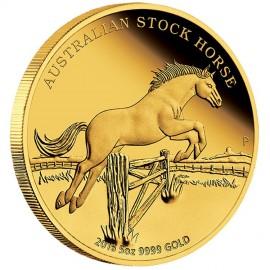 5 Unze Gold Stockhorse PP mit Box