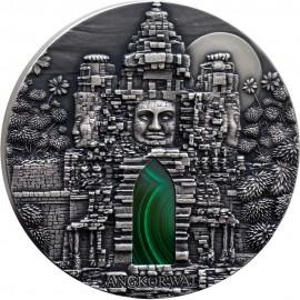1 kg Silver  Angkor Wat Congo