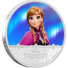 1 Unze Silber Frozen Anna Disney Niue