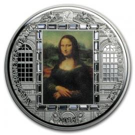 3 unzen  Silber Mona Lisa 2016 Cook Islands  20 $ Meisterwerke der Kunst