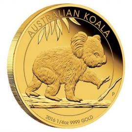 1/4 oz Koala Gold 2015