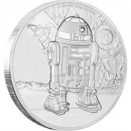 1 Unze Silber R2 D2 Star Wars Niue