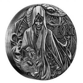2 oz  Silver  Loki 2016