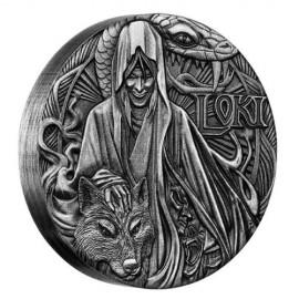 2 Unzen Silber North  Gods Loki PP