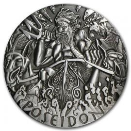 2 Unzen Silber Poseidon  PP Gods of Olympus