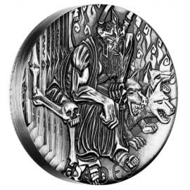 2 Unzen Silber Hades PP Gods of Olympus