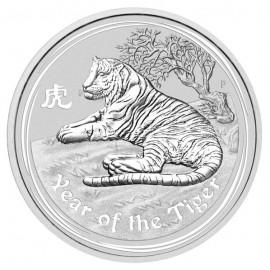 1 kg Silber Lunar 2 Tiger