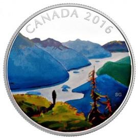1 Unze Silber Canada Atlantic  Salmon