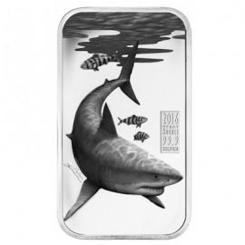Cook Islands Weißer Hai  Predators 1 Unze Silber  Barren