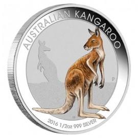 1/2 oz anda show Melbourne Kangaroo Silver Perth Mint