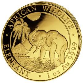 1 oz Somalia Elefant Gold 2017