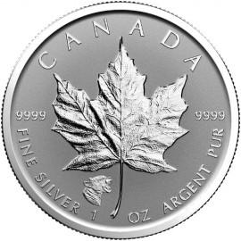1 Unze Silber Maple Leaf 2016 Privy Cougar