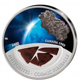20 g Silber Meteorit Abee Kanada 10 $