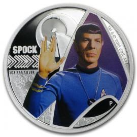 1 Unze Silber Star Trek Mr Spok