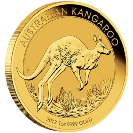 1 oz Gold Känguru Nugget 2017