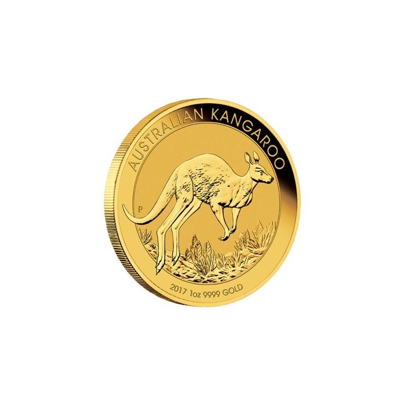1 Unze Gold Känguru Nugget 2017