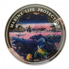 5 oz Palau marine life 1994
