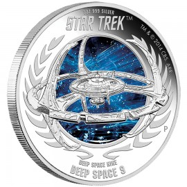 1 oz silver Deep Space nine 2015