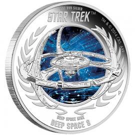 1 Unze Silber Deep Space Nine
