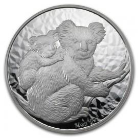 10 Unzen Silber Koala 2008