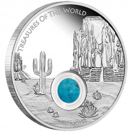 1 Unze Silber Treasures of the World