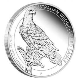 1 OZ Platin Wedge Tailed eagle Proof 2016