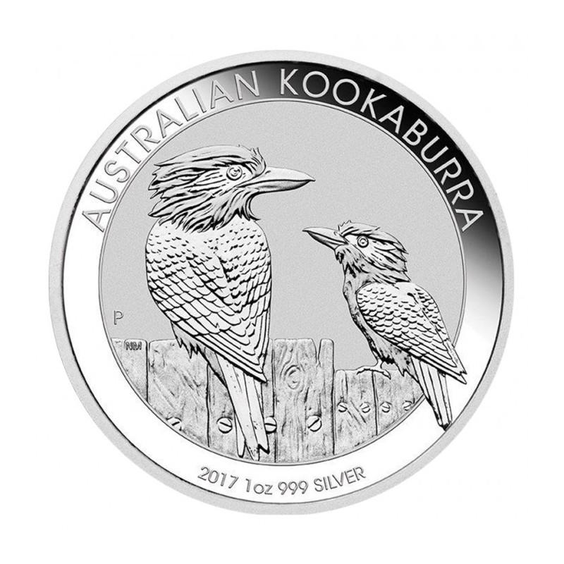 1 oz Silver Australien Kookaburra 2017