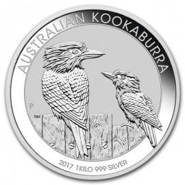 1 Kilo Silver Australien Kookaburra 2017
