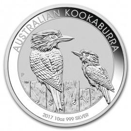 10 Unzen Silber Australien Kookaburra 2017
