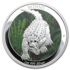 1 Unze Silber Minmi