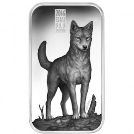 Cook Islands Dingo Predators 1 Unze Silber  Barren