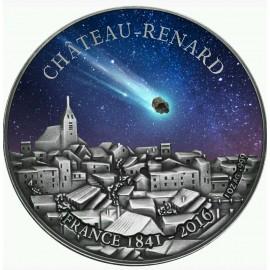 1 Unze Silber Burkina Faso CHATEAU-RENARD METEORITe   1000 Francs 2016 PP