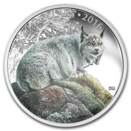 1 Unze Silber Canada 2016 Lynx