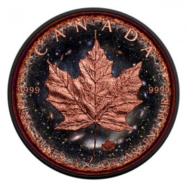 1 Unze Silber Maple Leaf Logarithmic Universe 2016