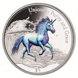 3 Unzen Silber Unicorn Purity and Grace PP 2016 Fiji