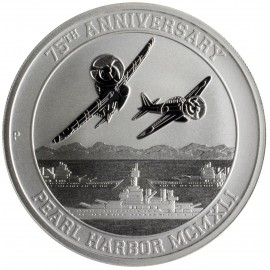 1 Unze Silber Pearl Harbour 75 Jahre Perth Mint 2016