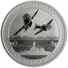 1 oz Pearl Harbour Perth Mint 2016