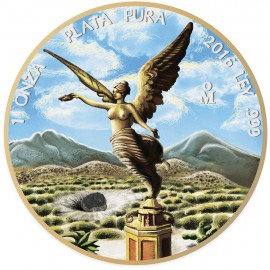 1 Unze Silber Mexiko Libertad 2016 Meteorite