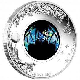 1 Unze Silber Opal Serie Fledermaus