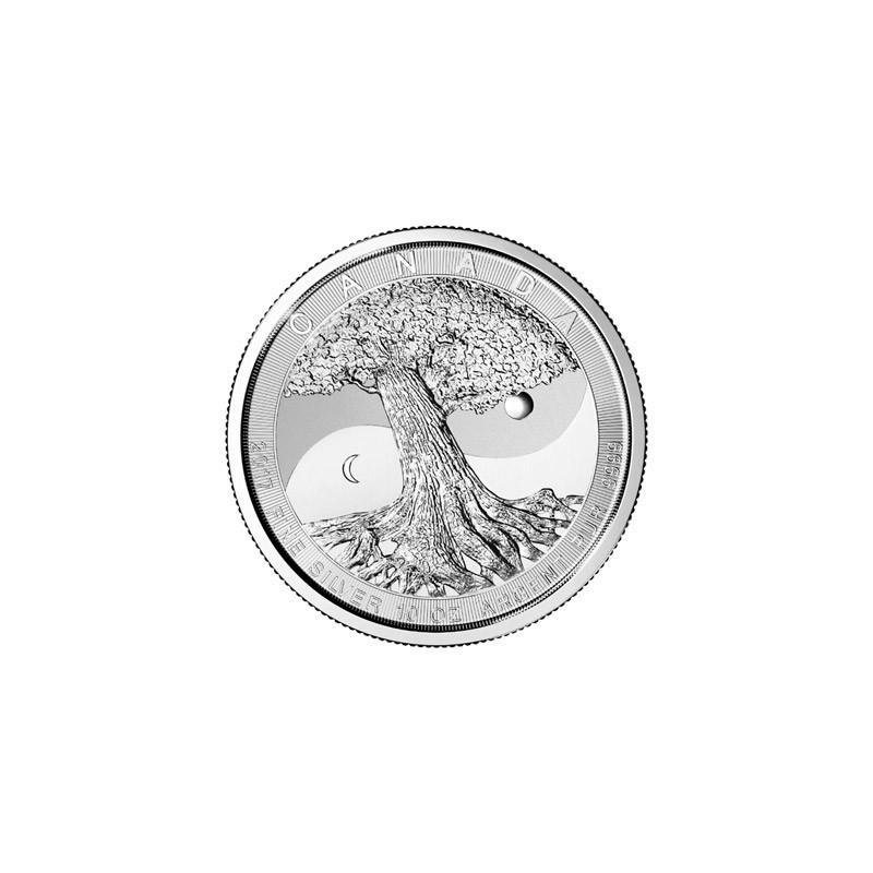10 Oz Silber Silberm 252 Nze Tree Of Life Yin Yang Canada