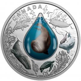 1 Unze Silber Canada 2016