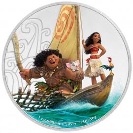 1 Unze Silber Moana Disney Niue