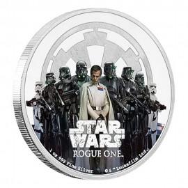 1 Unze oz Silber Rogue One The Empire Star Wars Niue Box PP