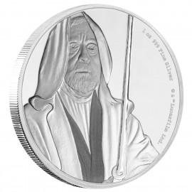 1 Unze Silber Prinzessin Obi-wan Kenobi Star Wars Niue