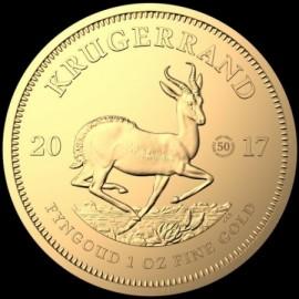 1 Unze Gold Krügerrand 2017  Jübiläum 50 Jahre