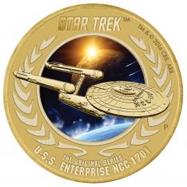 50 Jahre Enterprise 1 AUD  Tuvalu