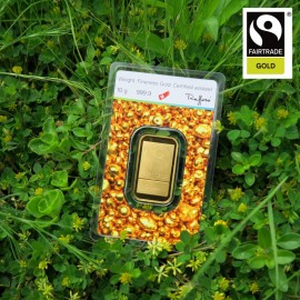 10 g Goldbarren Argor Heraeus Fairtrade