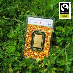 10 g Goldbarren Heraeus Fairtrade
